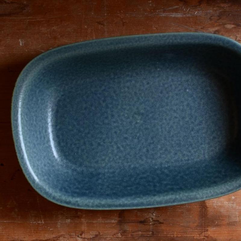 村上雄一さん 湖水色オーバルグラタン皿(OV300)