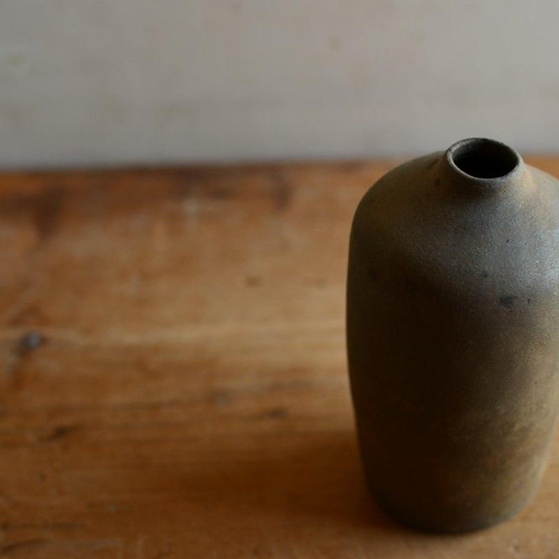 松本かおるさん 花器 ボトル(9)