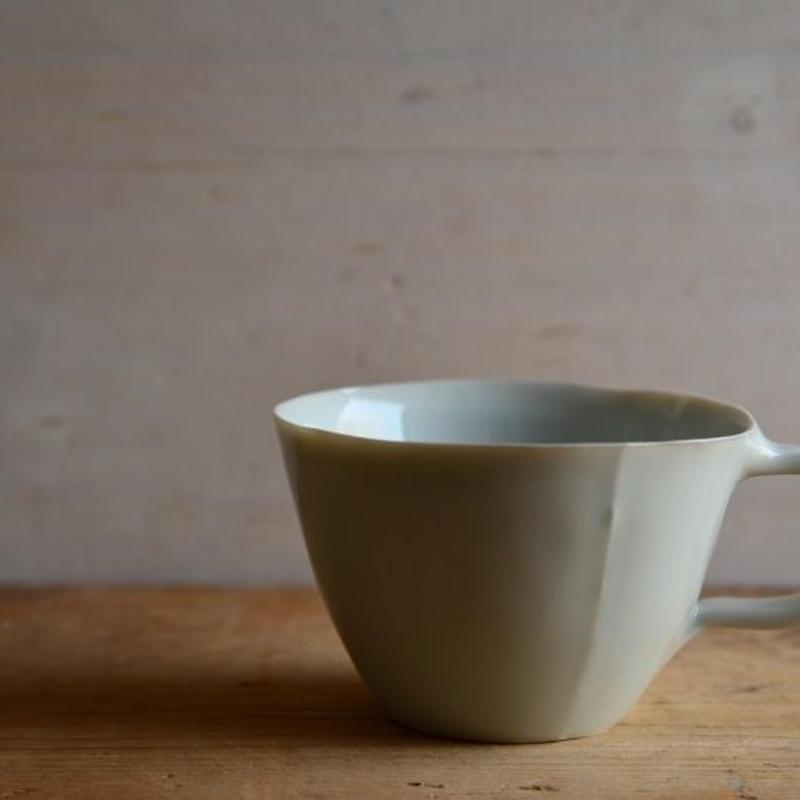 渡辺キエさん  青白磁 マグカップ丸型