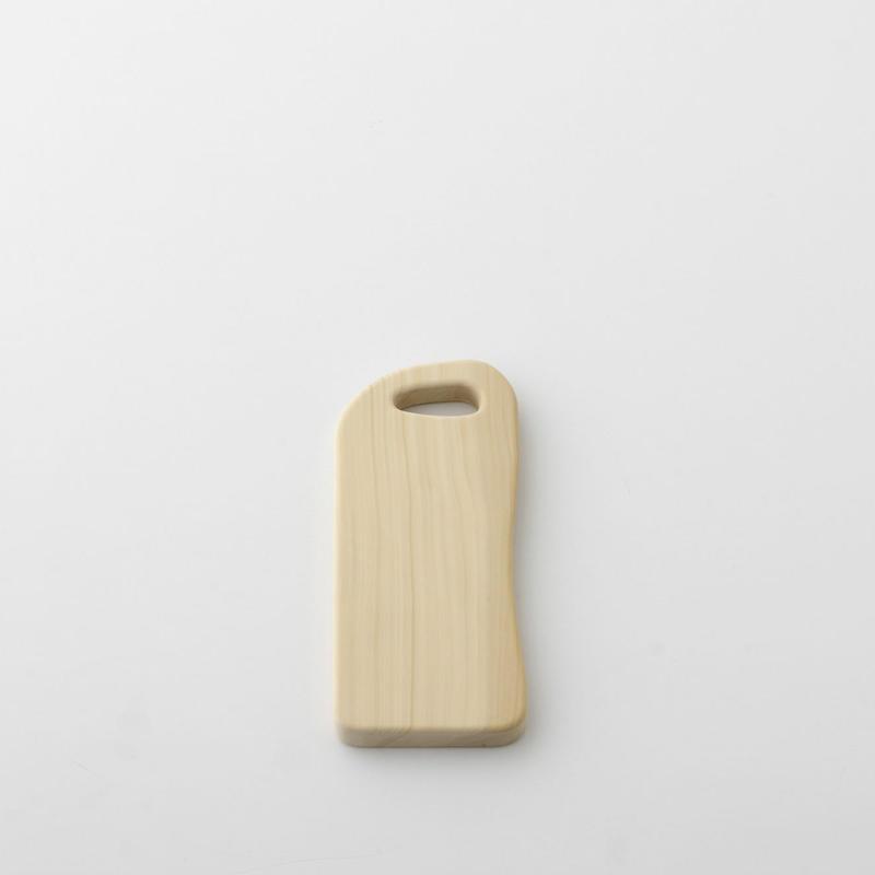 【お取り寄せ】woodpecker(福井賢治さん) いちょうの木のまな板 小3