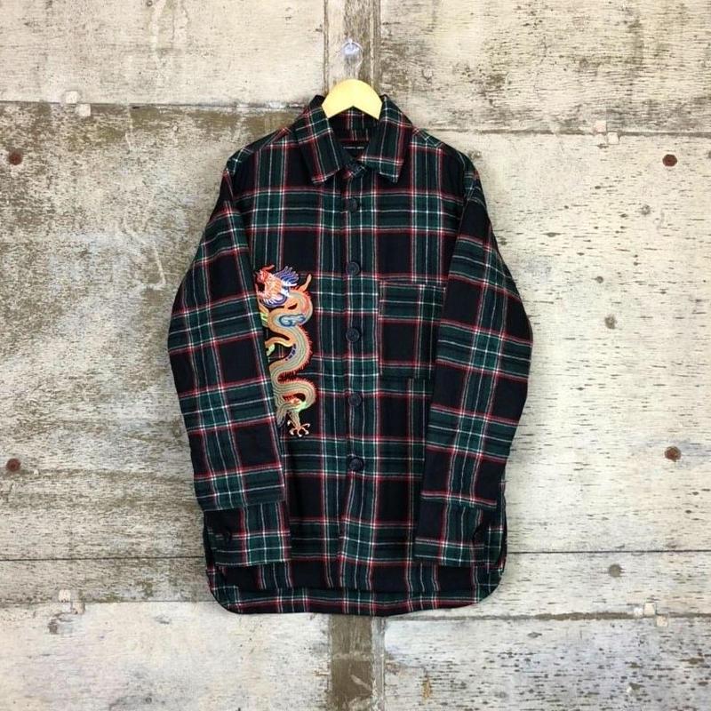 ■OVERCPOjacket■BLACK■
