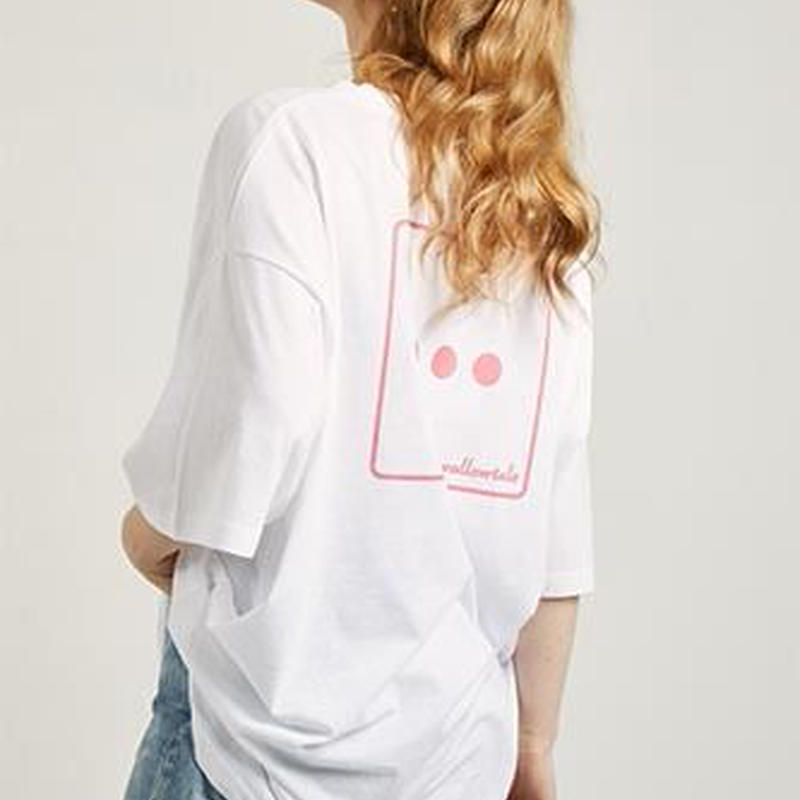 『Swallowtale』 ドットドットドット Tシャツ (White)