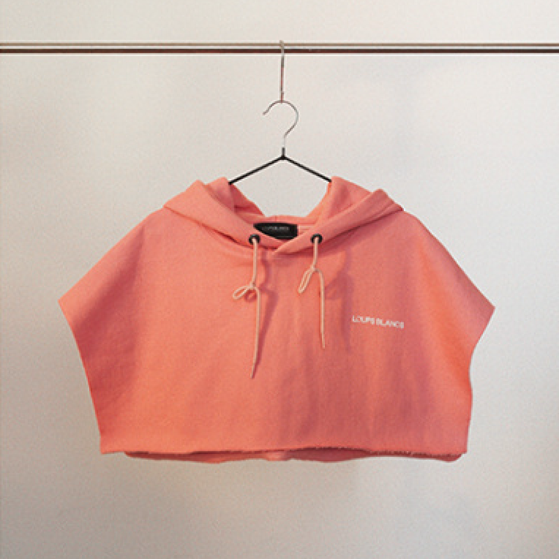 『LOUPS BLANCS』レイヤードフードボレロ (Pink)