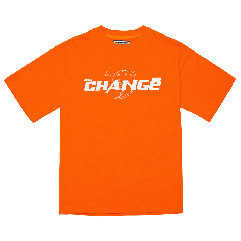 『Verynineflux』  ラキッシュ  Tシャツ (Orange)
