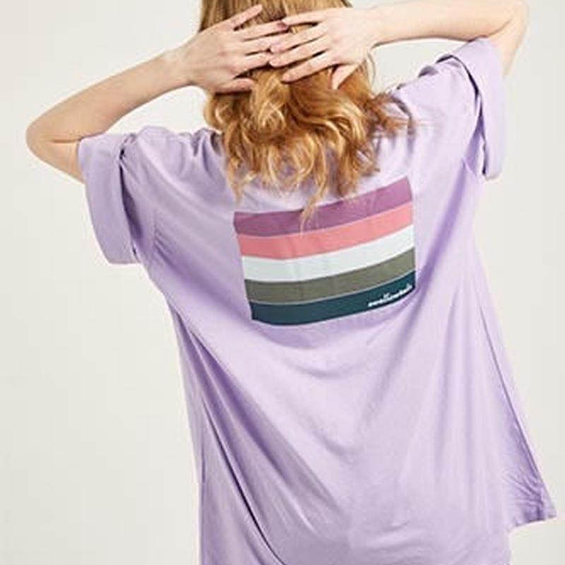 『Swallowtale』 ディープ Tシャツ (Purple)