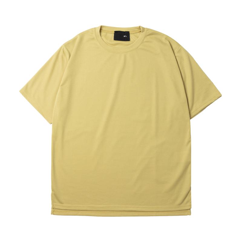 『 BY.L 』  ベンツラウンド Tシャツ (Mustard)