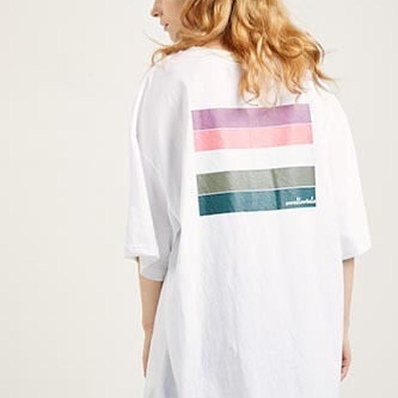 『Swallowtale』 ディープ Tシャツ (White)