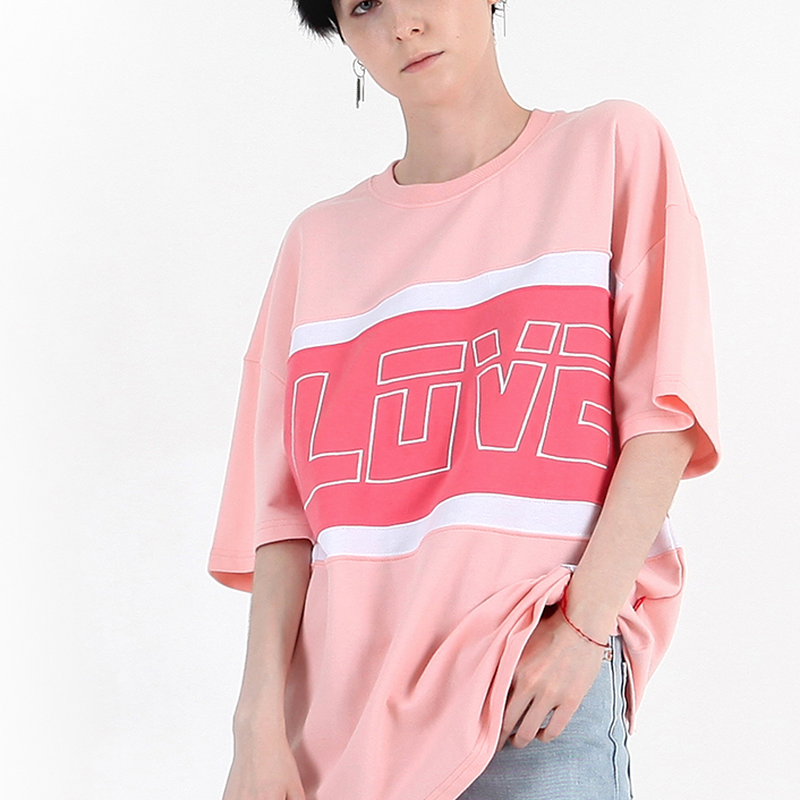 BY.L  LOVE LINE T (Pink)