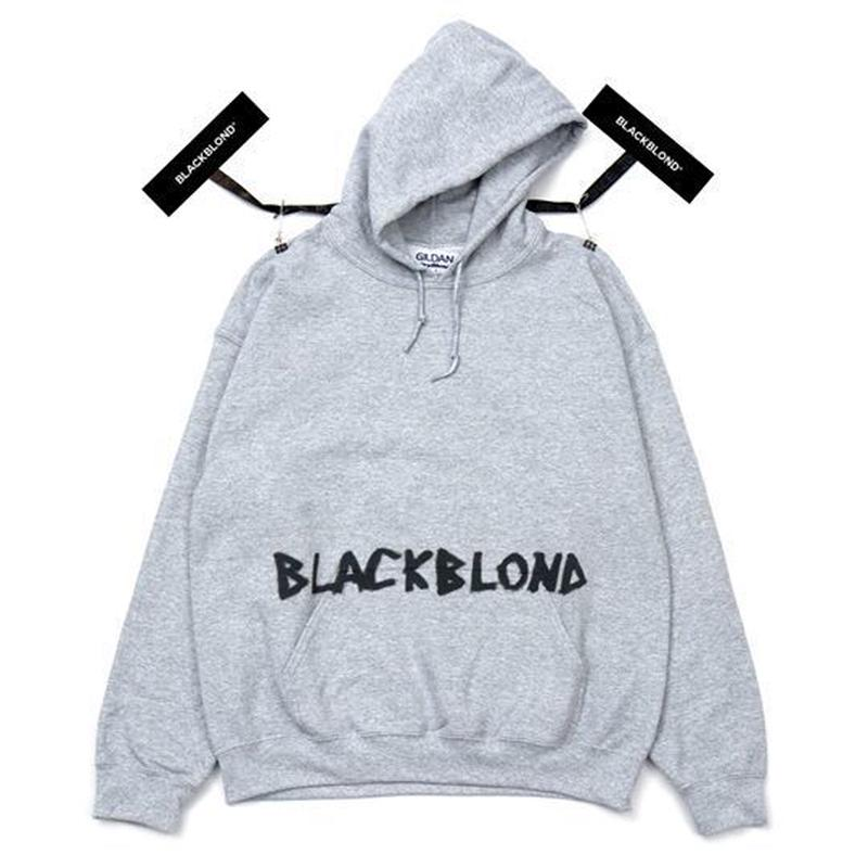 『BLACKBLOND』Innocent Crime Hoodie (Gray)