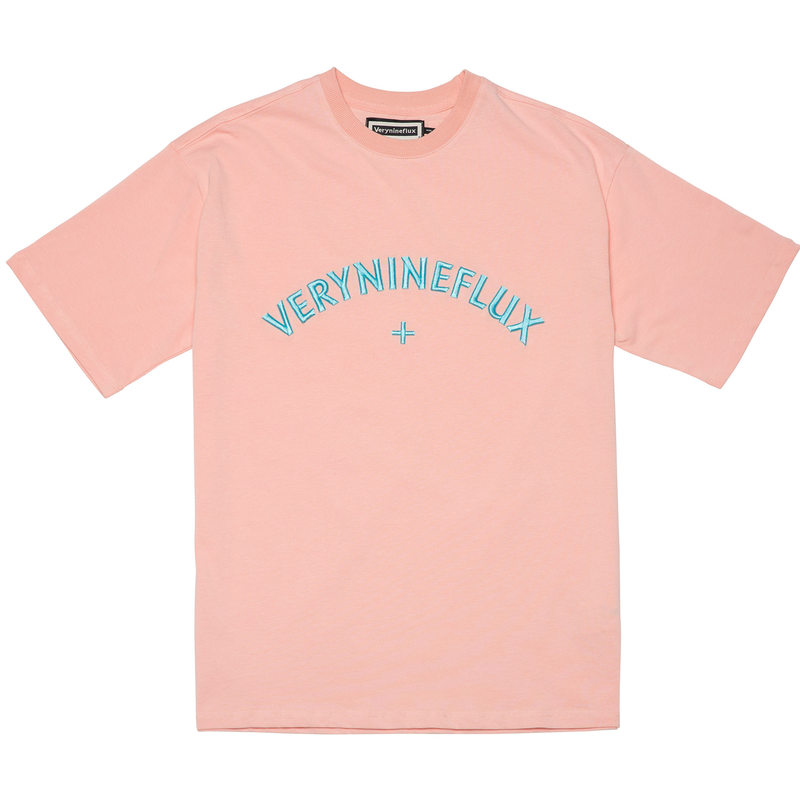 『Verynineflux』 サンセット Tシャツ Ver.2 (Pink)