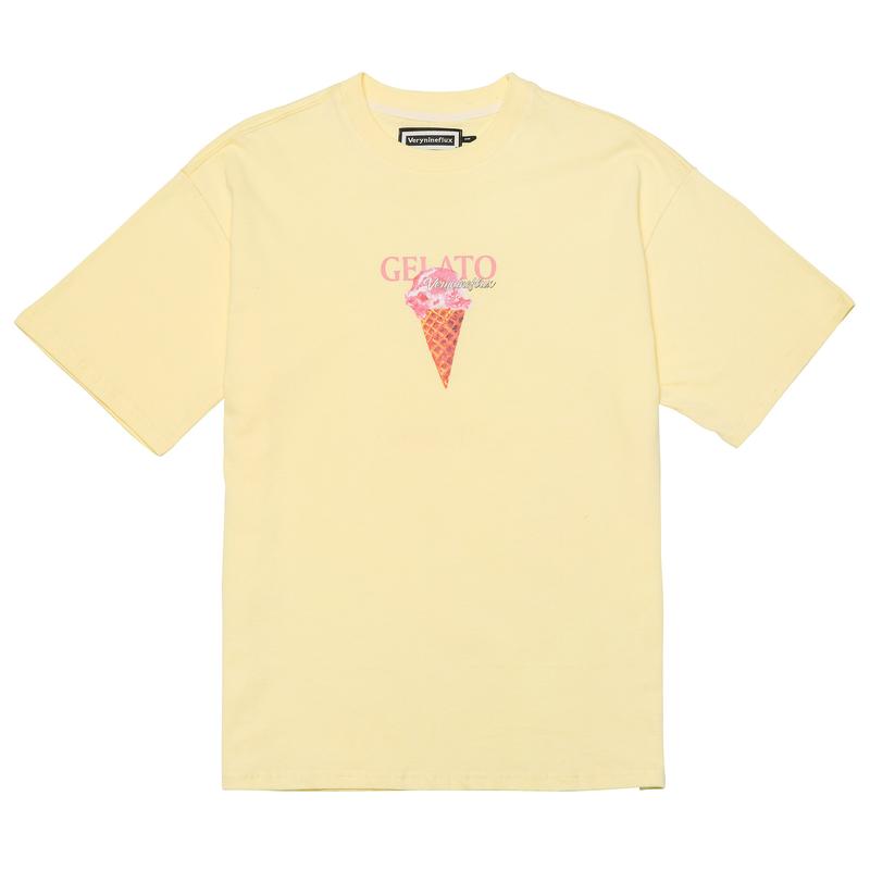 『Verynineflux』  MELLIFLUOUS  Tシャツ (Yellow)