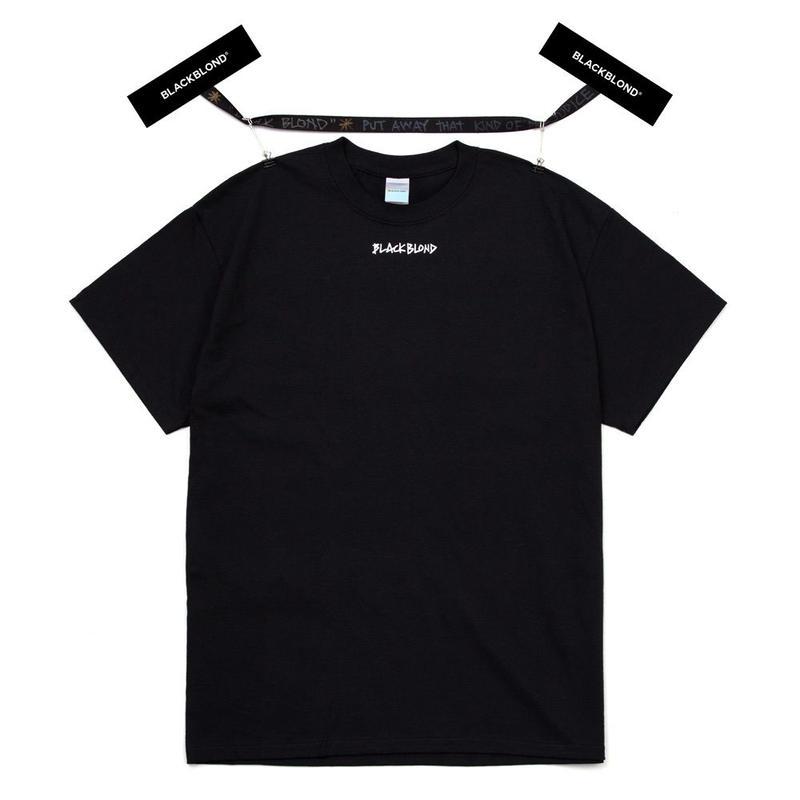 『BLACKBLOND』 イノセントクライムショートスリーブ Tシャツ (Black)