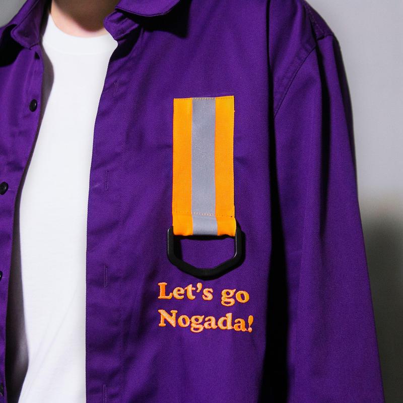 Swallowtale Single reflective taped Shirts (Purple)