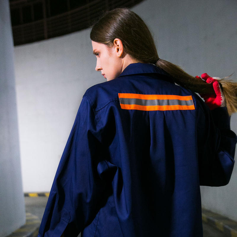 Swallowtale Single reflective taped Shirts (Navy)