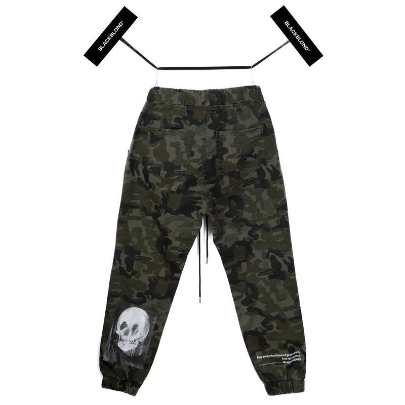 Blackblond BBD Hermoso Camo Jogger Pants (Khaki)