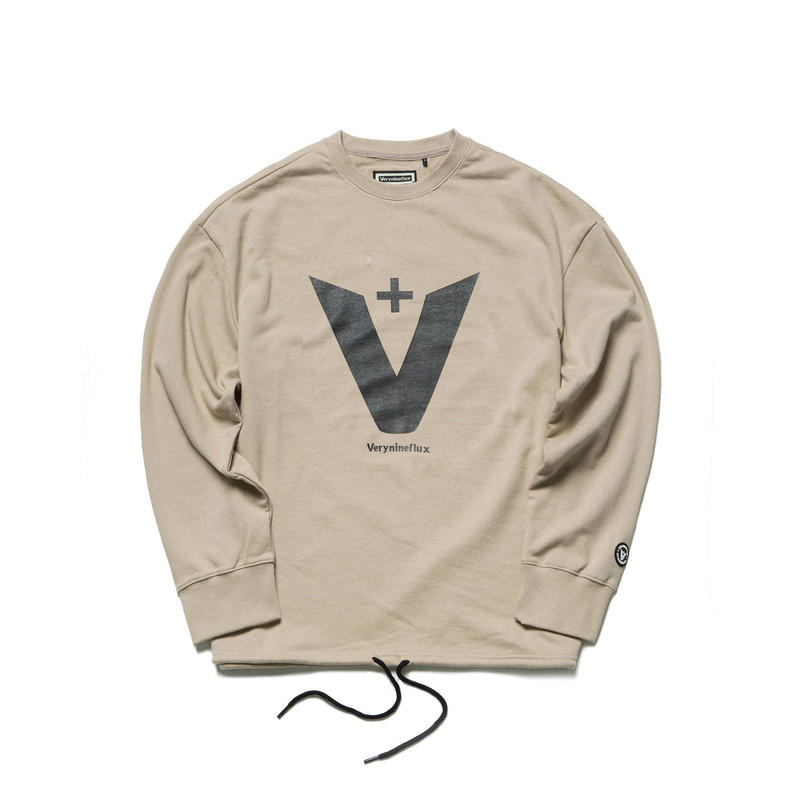 Verynineflux GREAT CREWNECK (Beige)