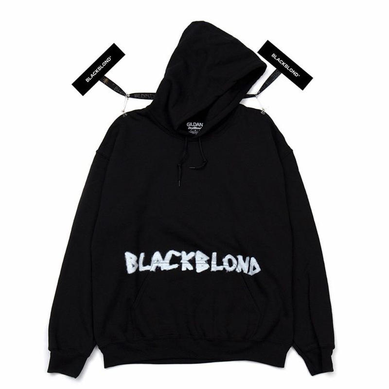 『BLACKBLOND』Innocent Crime Hoodie (Black)