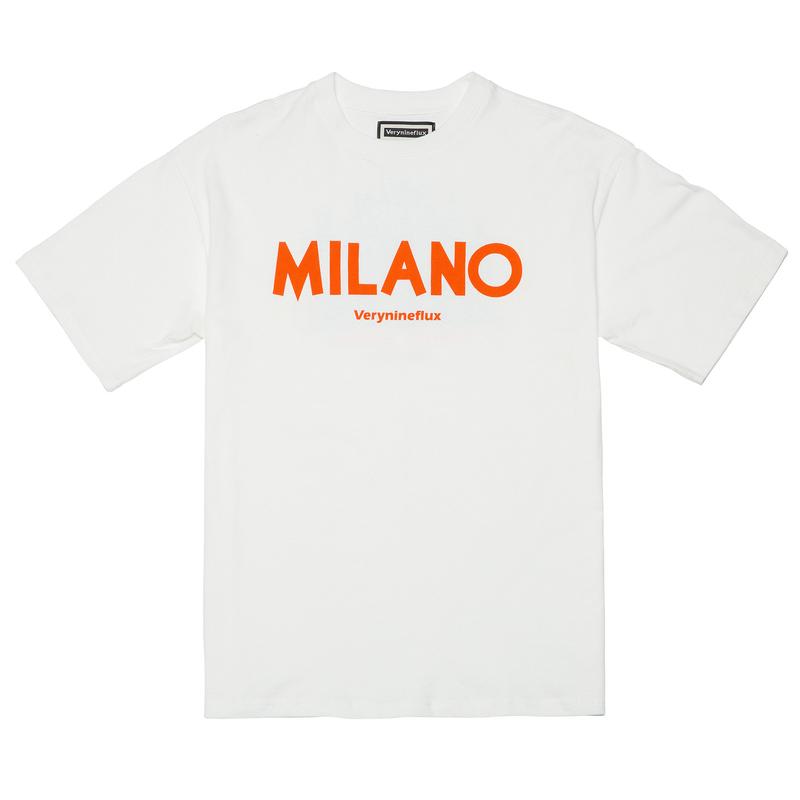 『Verynineflux』  ミラノTシャツ (White)
