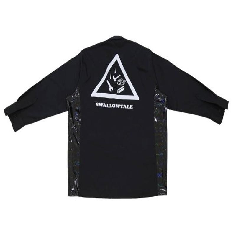 Swallowtale Hologram combination Shirts (Black)