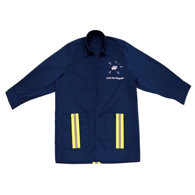 Swallowtale Double pocket refective taped Shirts (Navy)