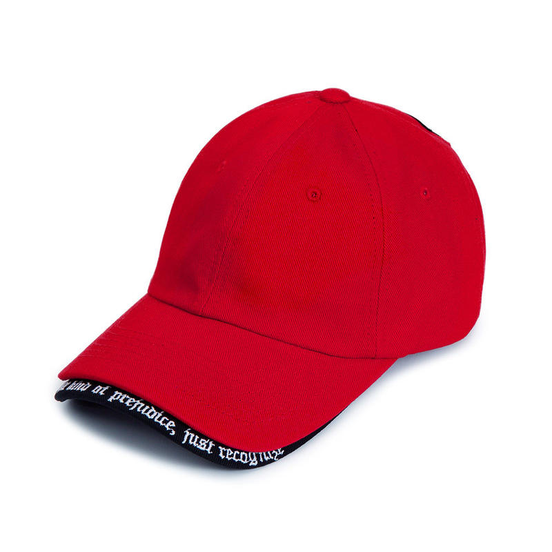 『BLACKBLOND』 BBD Revolution Double Visor Cap (Red)
