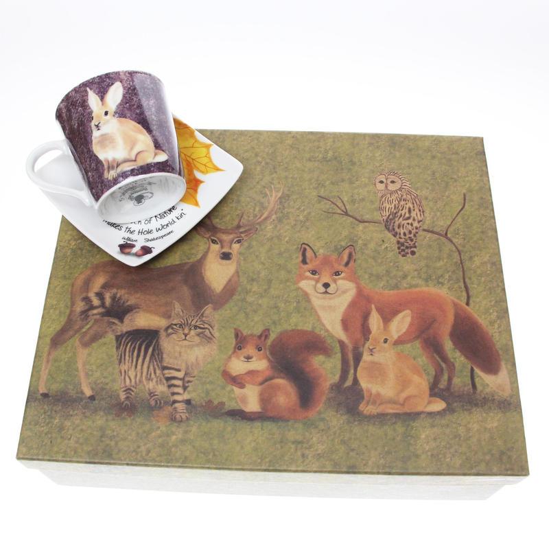 6セットcups&saucer 動物シリーズ  豪華なbox付き