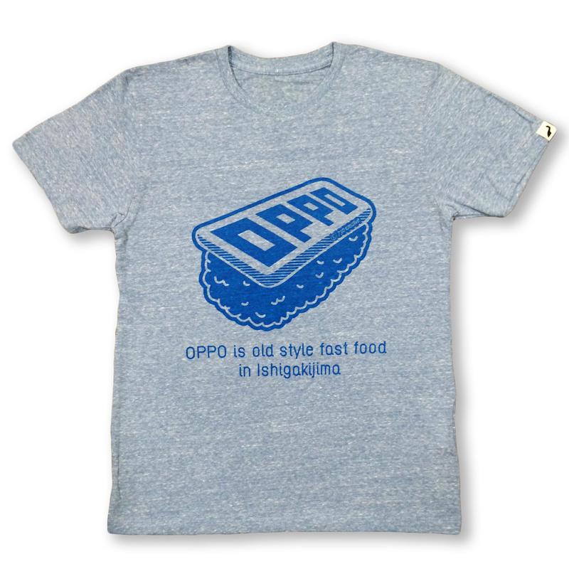 OPPO T-shirt (オーセンティックブルー)