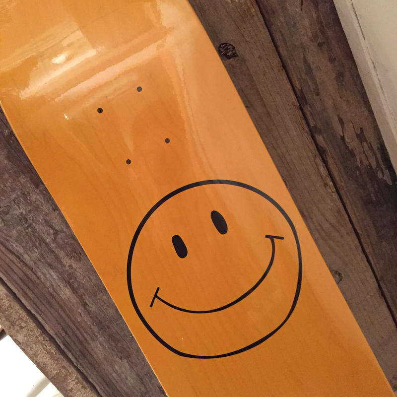 "JACKSON MATISSE  SMILE SKATE DECK"""