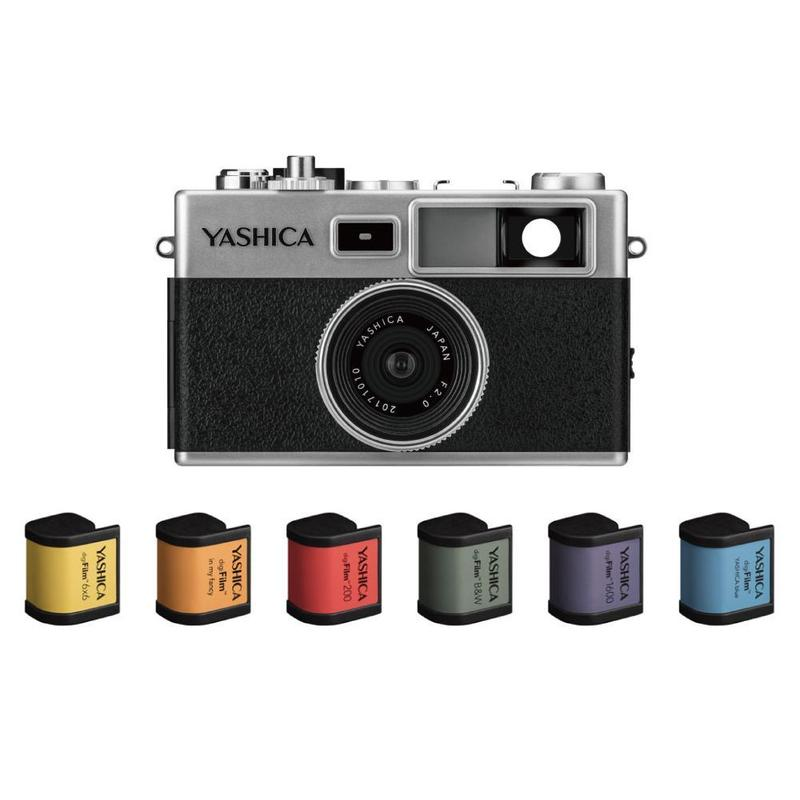 YASHICA digiFilm™ camera Y35  with 6 digiFilm フルセット