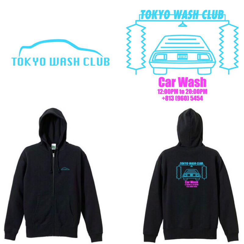 car wash HOODIE