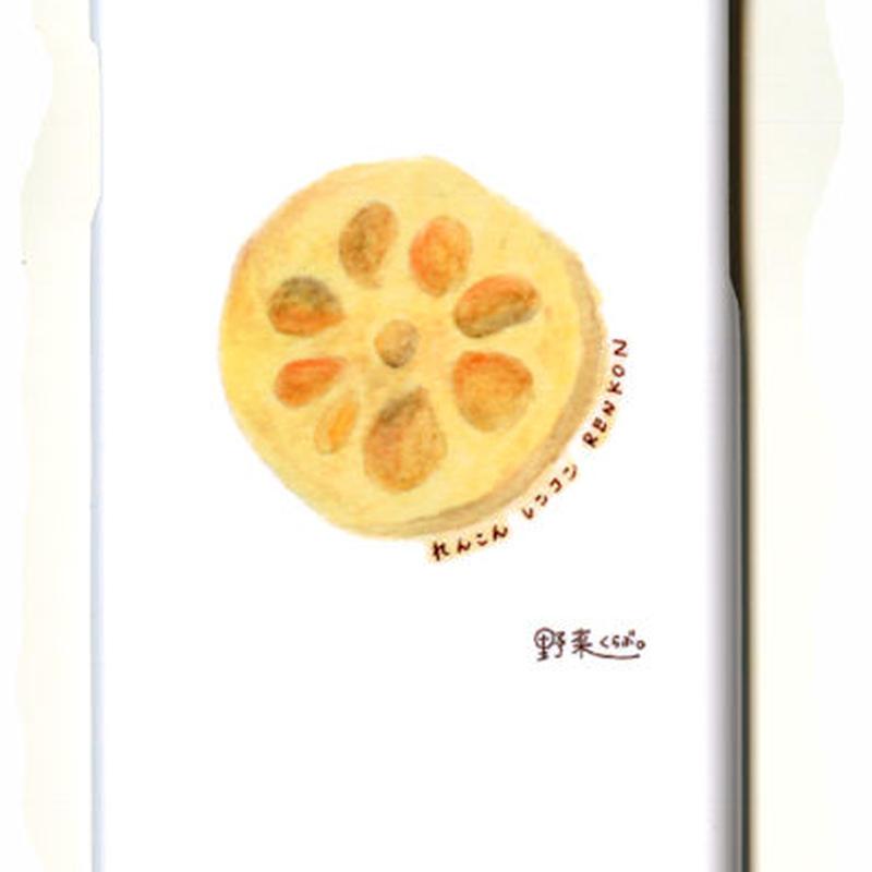野菜くらぶ。 未来の見えるれんこん iphone6 iphone6s スマホケース