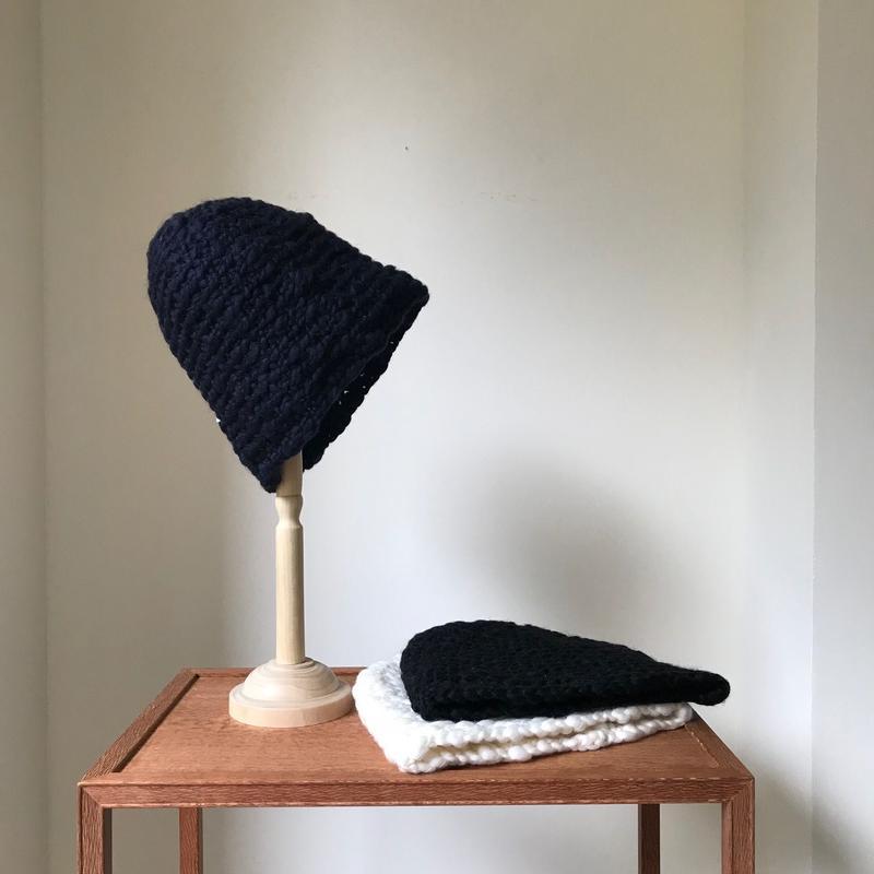 ニット帽「PUFFY」|Pois E
