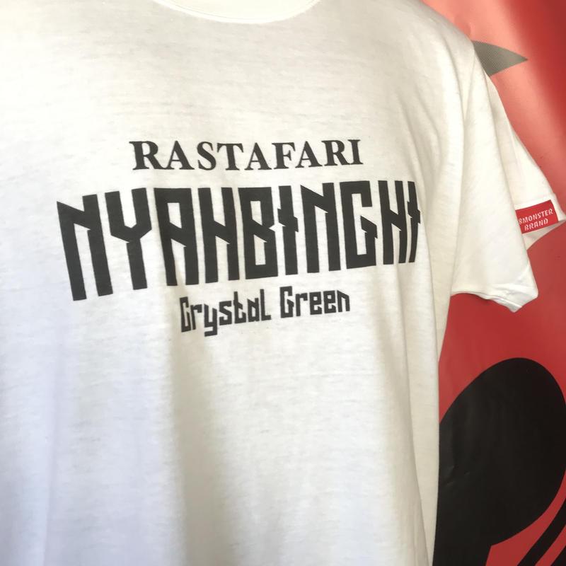ナイヤビンギTシャツ 白
