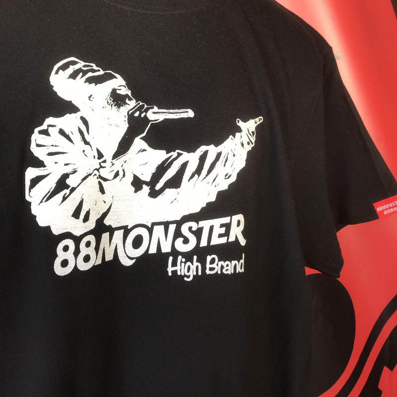 ラスタマンTシャツ 黒