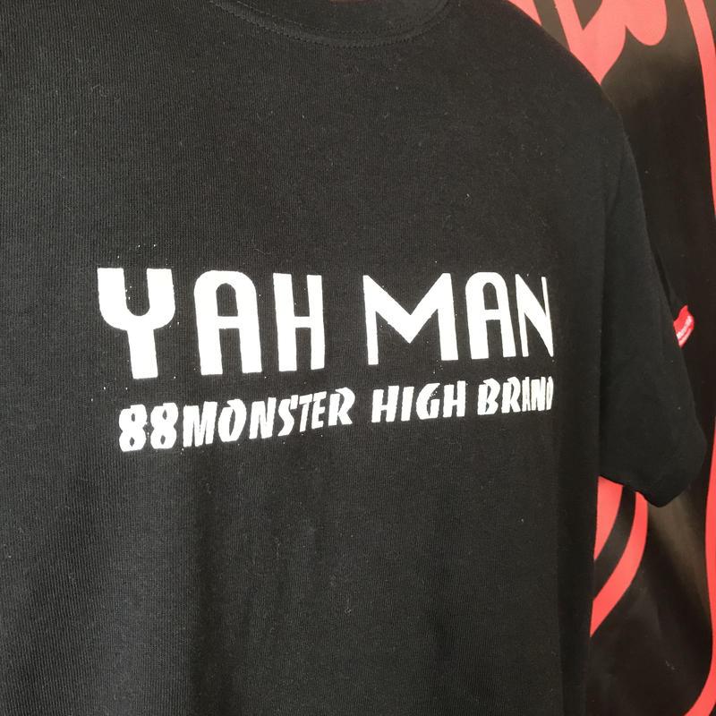 Yah Man Tシャツ 黒