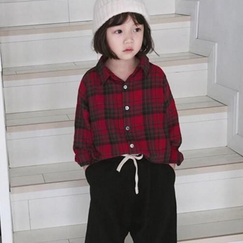 送料無料❤︎checkシャツ❤︎秋冬チェックシャツ(fe/ken)