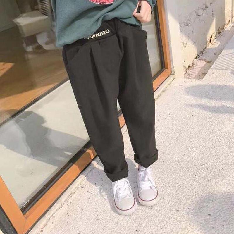 送料無料casual★one pointパンツ