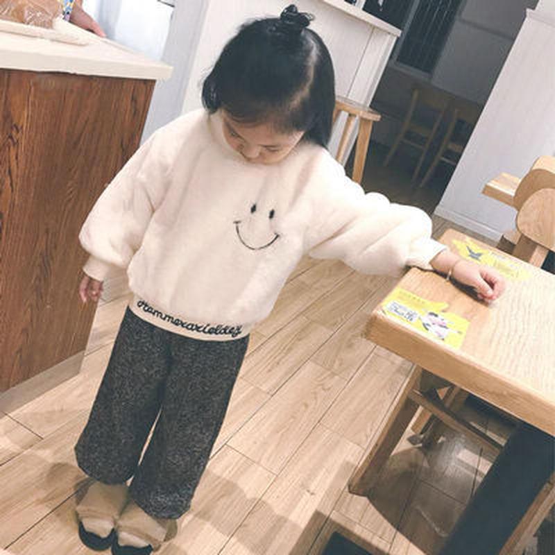 送料無料☆smileふわもこトップス☆(fe)