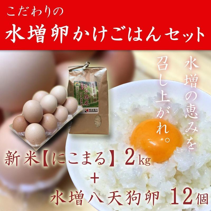 水増卵かけごはんセット