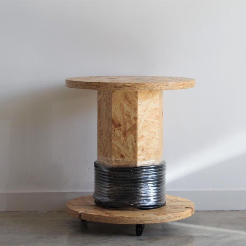 Drum Side Table (Black)