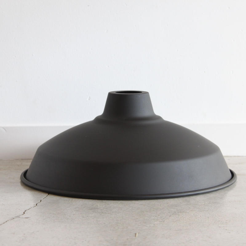 "LAMP SHADE 14"" matt black"