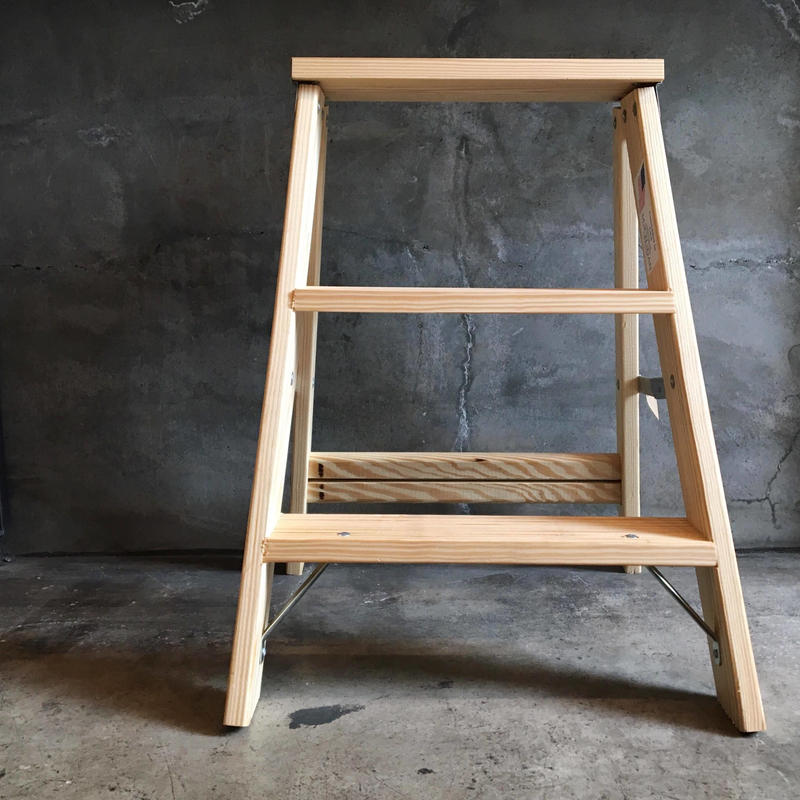 Wood Stepladder
