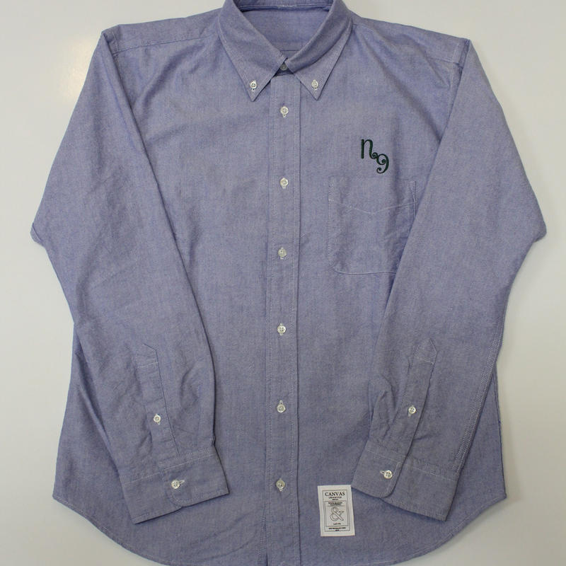 CANVAS OXFORD SHIRT ONE POINT