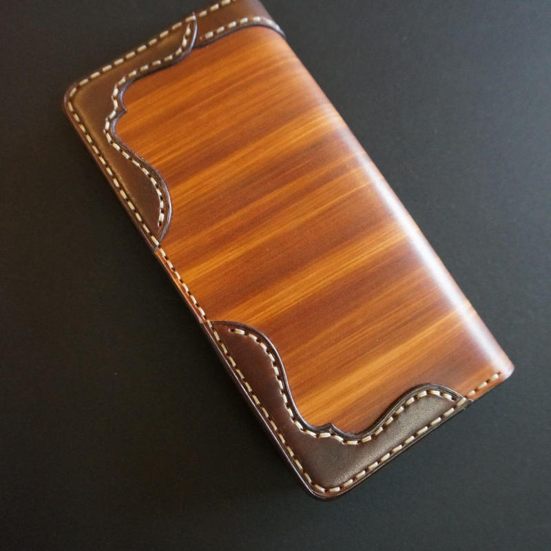 wood brown ロング01