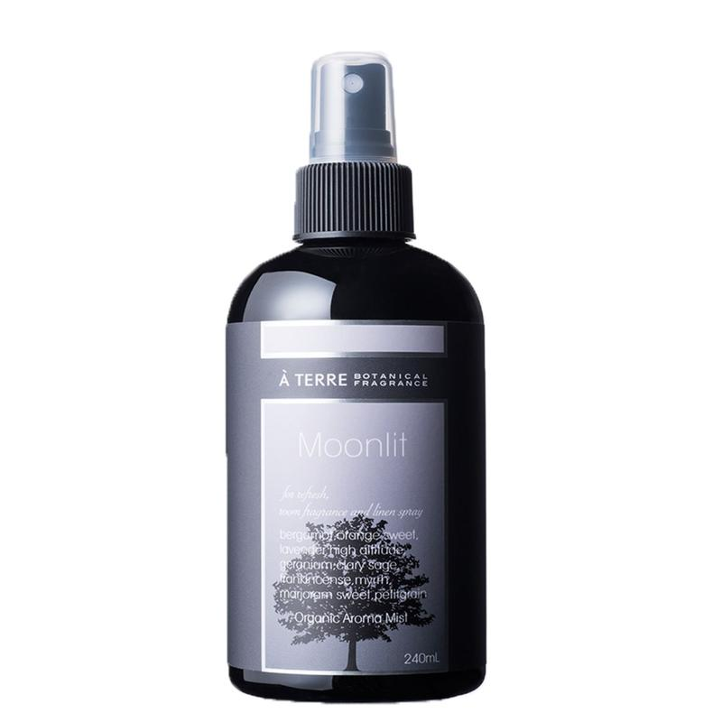 【À TERRE ORGANIC BLEND MIST】Moonlit 240ml