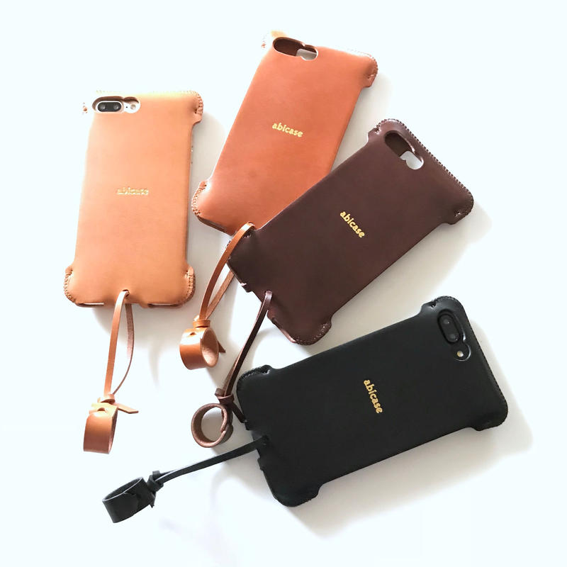 【予約受付】abicase8PSJ(iPhone8Plus用)シンプルジャケット