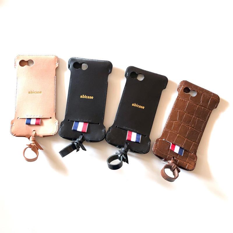 在庫限り【iPhone7(&8)】 リボンウォレットジャケット