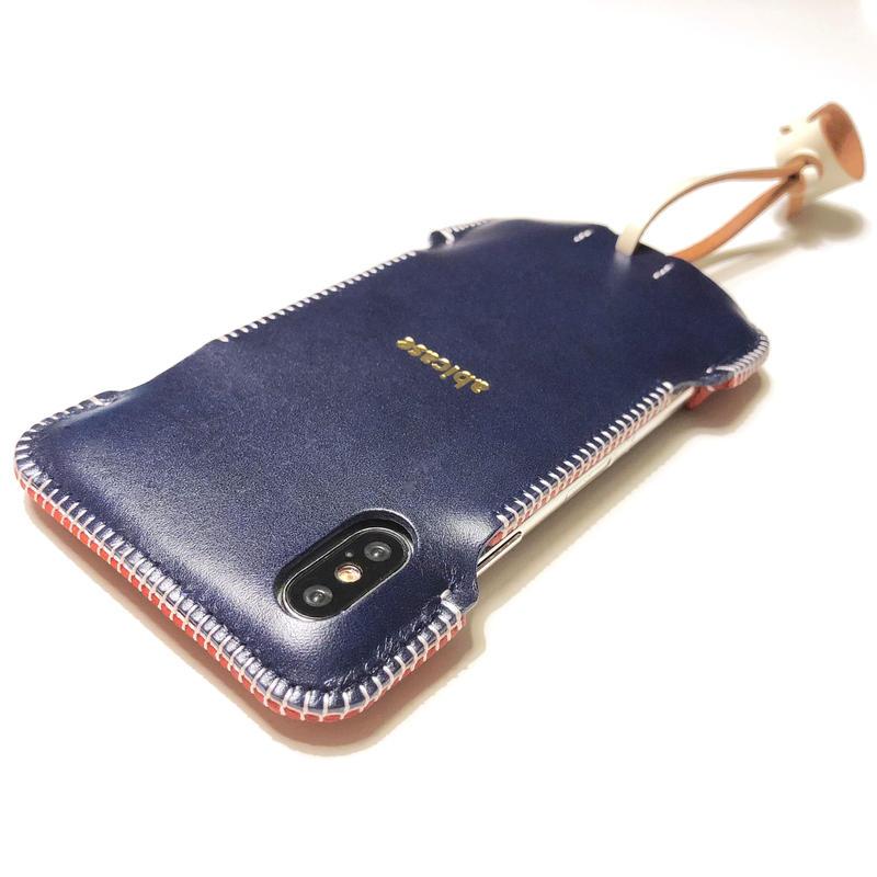予約受付【トリコロール】abicaseXWJ/iPhoneX用ウォレットジャケット