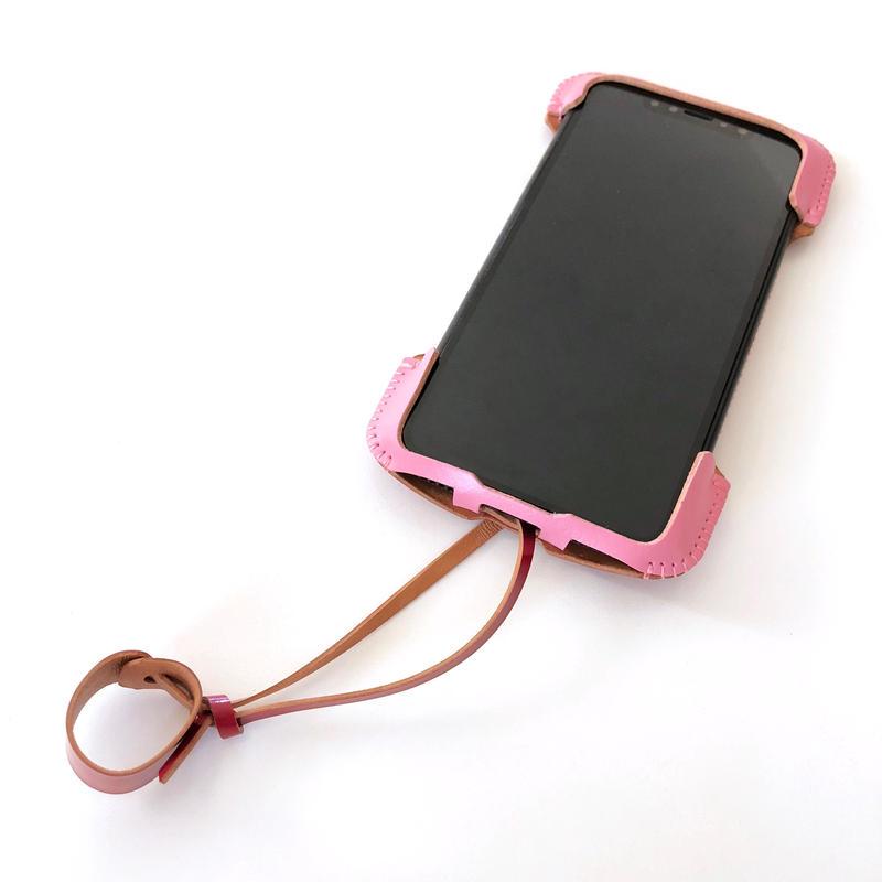 【1点物】【ツートンコードバン】abicaseXWJ/iPhoneX用ウォレットジャケット