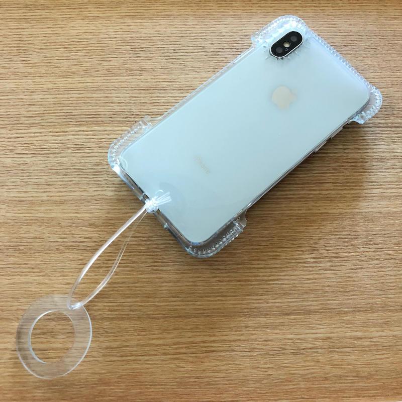 【PVCアビケース】abicaseVinyl/iPhoneX用シンプルジャケット